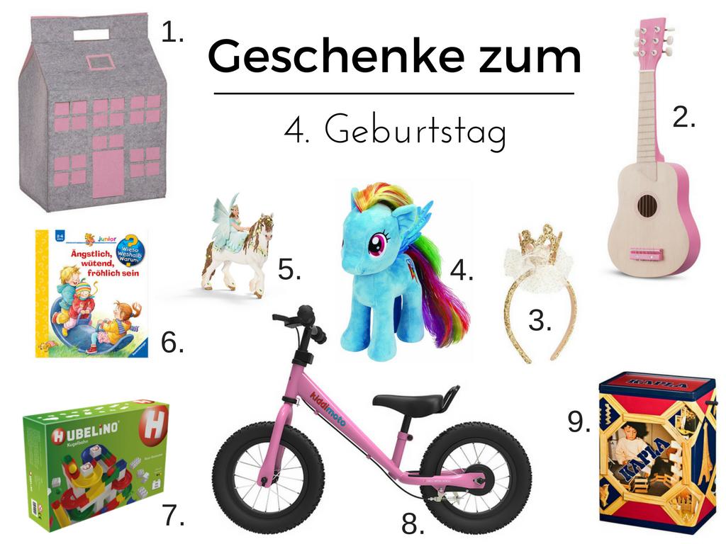 Inspiration Geschenkideen Zum 4 Geburtstag Kullakeks