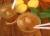 bebida sana y refrescante
