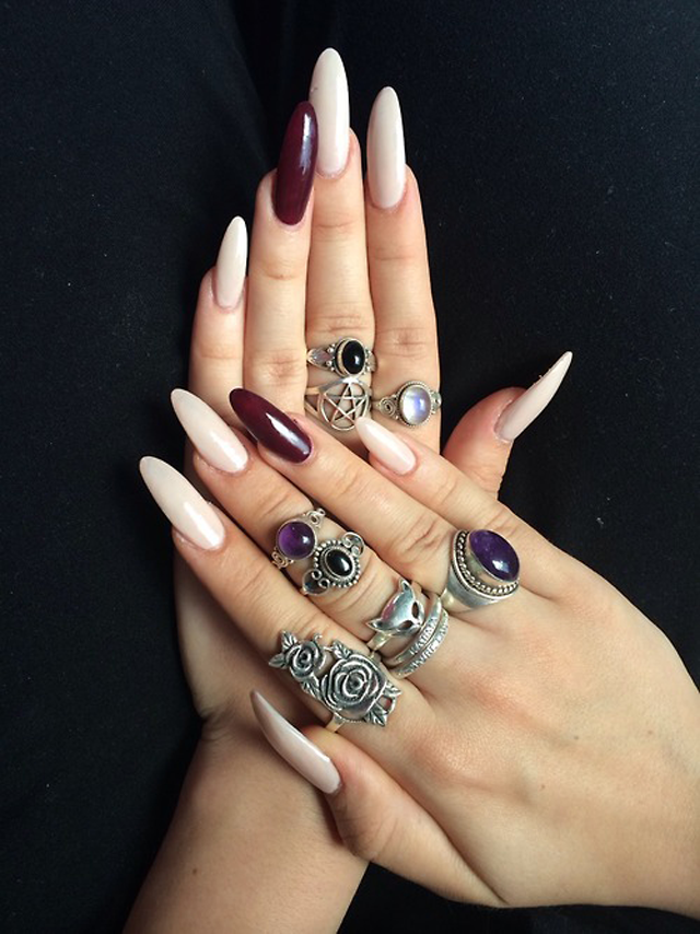 Stiletto nails is here!