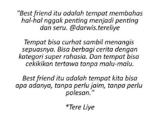 kumpulan caption tentang sahabat sejati selamanya tak bisa dilupakan.