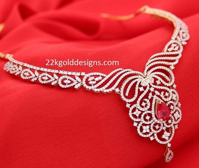 Manubhai Classic Diamond Necklace