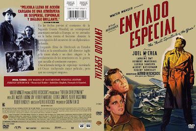 Carátula: Enviado especial (1940) Foreign Correspondent