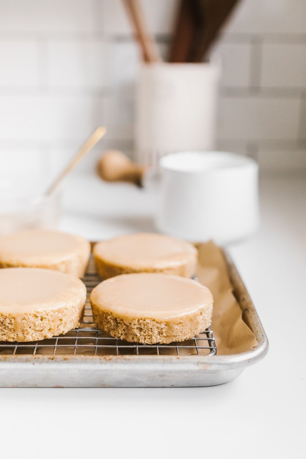 Weekend Favorites : Grapefruit Cakes & Glaze by Kitchen Scraps