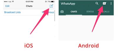 Cara Melihat Daftar Kontak di WhatsApp Tidak Muncul, ketika sudah Update Whatsapp di  iOS dan Android