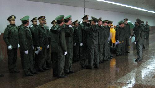 People's Armed Police, Beijing
