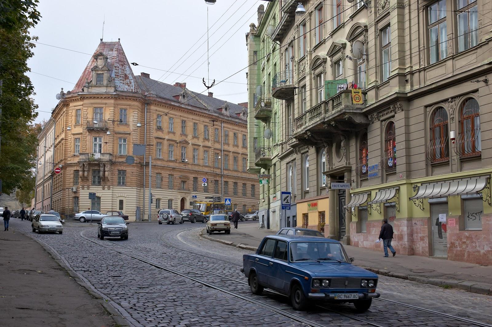 ulice we Lwowie
