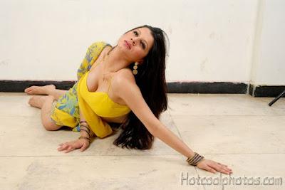 Srilankan Actress Hot Saree Photos