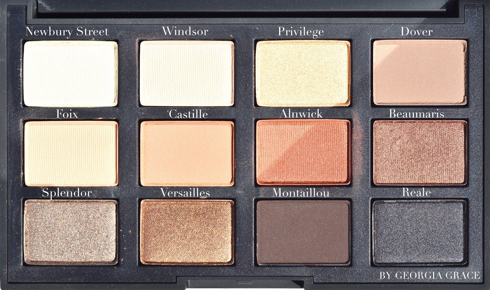 nars narsissist loaded eyeshadow palette review swatches photos face of the day