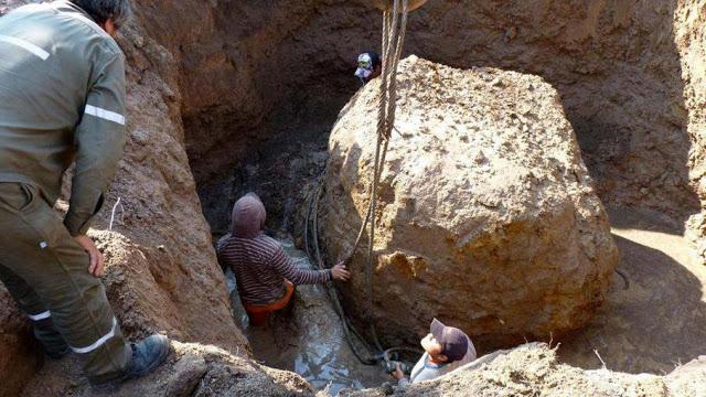 نيزك يزن أكثر من 30 طنا في محافظة شاكو