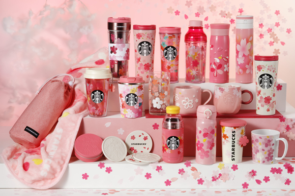 Starbucks Sakura Goods Second Series
