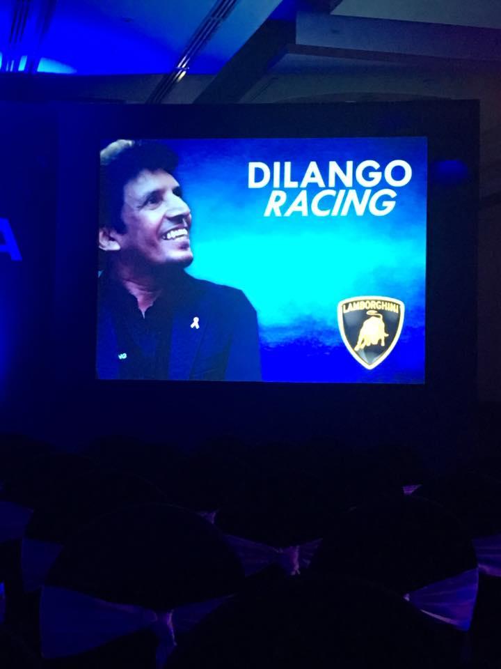 Dilantha Malagamuwa Lamborghini Super Trofeo Asia Series 2016