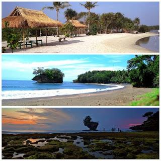 Destinasi Panorama Pantai Madasari Pangandaran