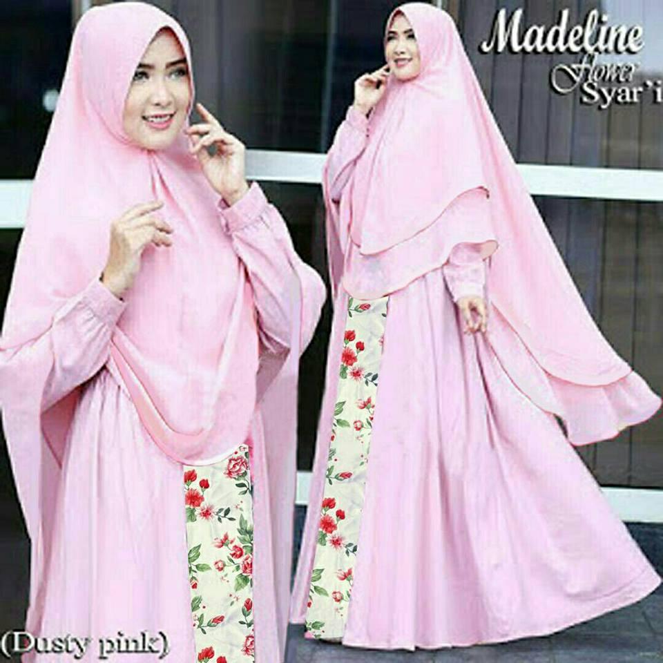 60 Model Baju Muslim untuk Wanita Terpopuler 2020 Model