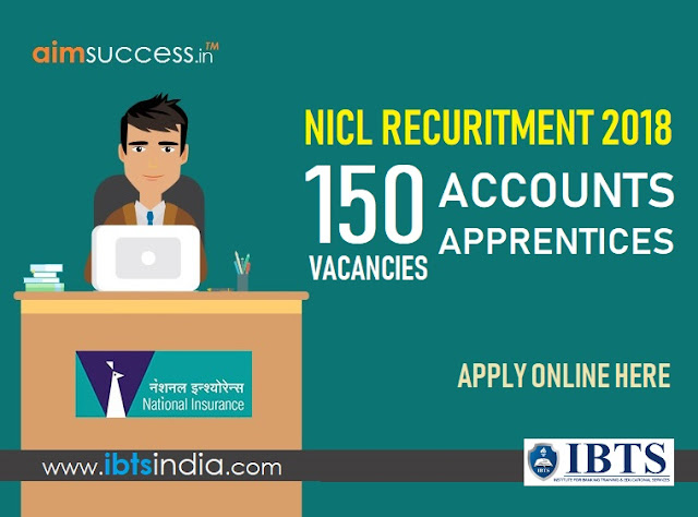 NICL Recruitment 2018 150 Accounts Apprentices Posts (Apply Online)