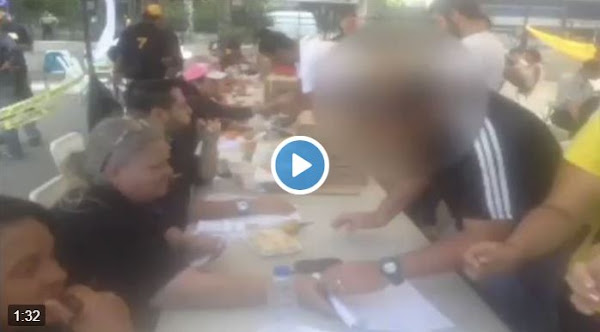 """Régimen """"metió la pata"""" mostrando video de un fraude"""