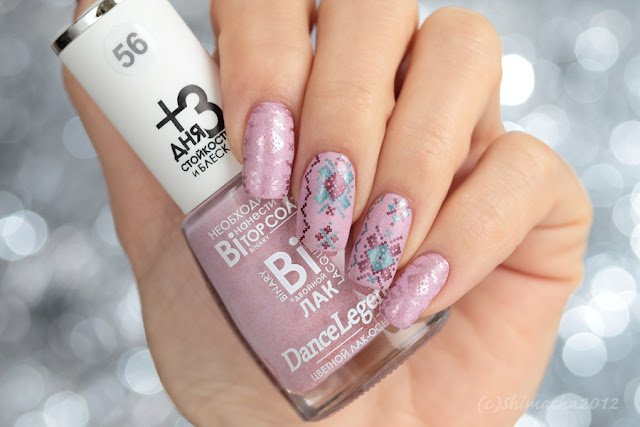 dance legend, clear jelly stamper, stamping nail, knit nails, スタンピングネイル, ネイルスタンプ