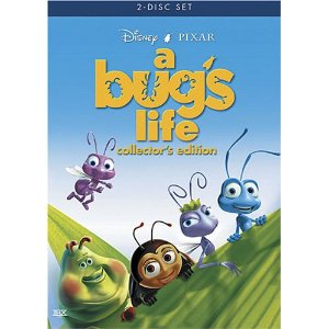 DVD Cover for A Bug's Life animatedfilmreviews.filminspector.com