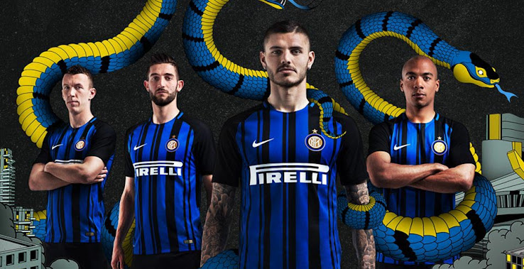 ba0d31f73 The Inter 17-18 home kit was finally officially launched this morning. Once  again made by Nike and featuring Pirelli as sponsor