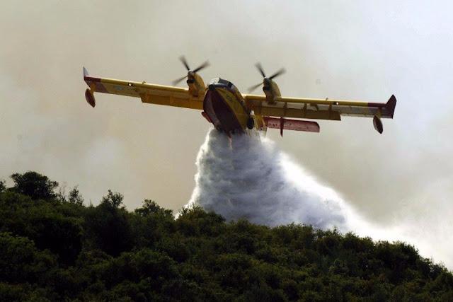 Μάχη με τις φλόγες σε Ζακύνθο και Κρήτη