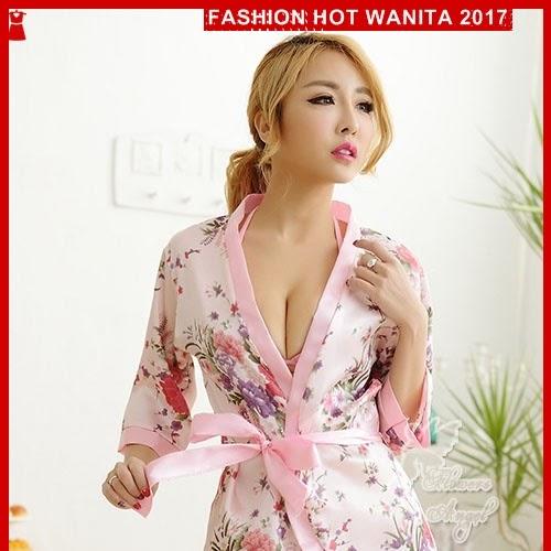 FWS001 Setelan Tidur Lingerie Murah Kimono Seksi