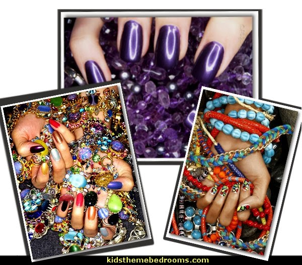 nail polish - nail design ideas  - nail art posters