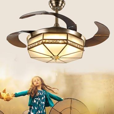 Những ưu điểm vượt trội của đèn quạt trần cao cấp nhập khẩu