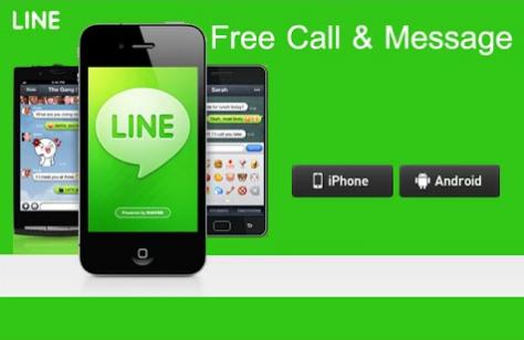 LINE messaging apps crosses 5 Hundred million downloads on Google Play Store
