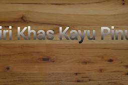 Ciri Khas Kayu Pinus Yang Wajib Kalian Pahami