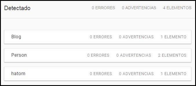 Errores BlogPosting reparados