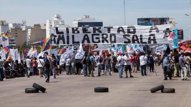 """Defensa de Milagro Sala anuncia lucha contra su """"injusta"""" condena"""
