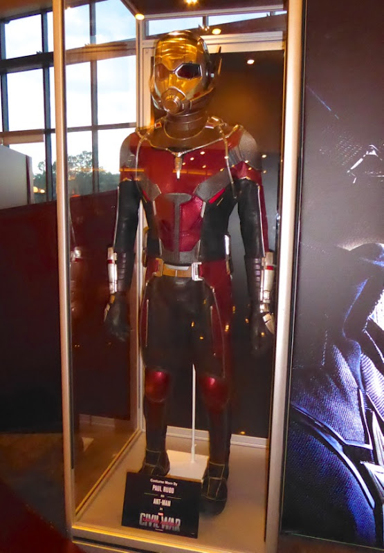 Captain America Civil War AntMan film costume