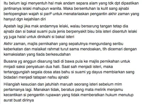 Nak 'Till Jannah' Tapi Bermekap Sampai Tak Solat? - Bakal Pengantin WAJIB BACA!
