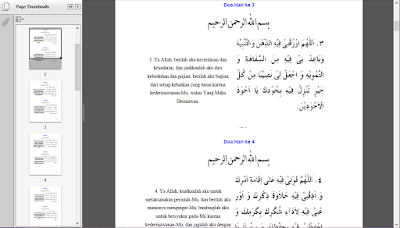 Doa doa Ramadhan