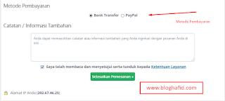 Konfirmasi Pembayaran dan Metode Pembayaran