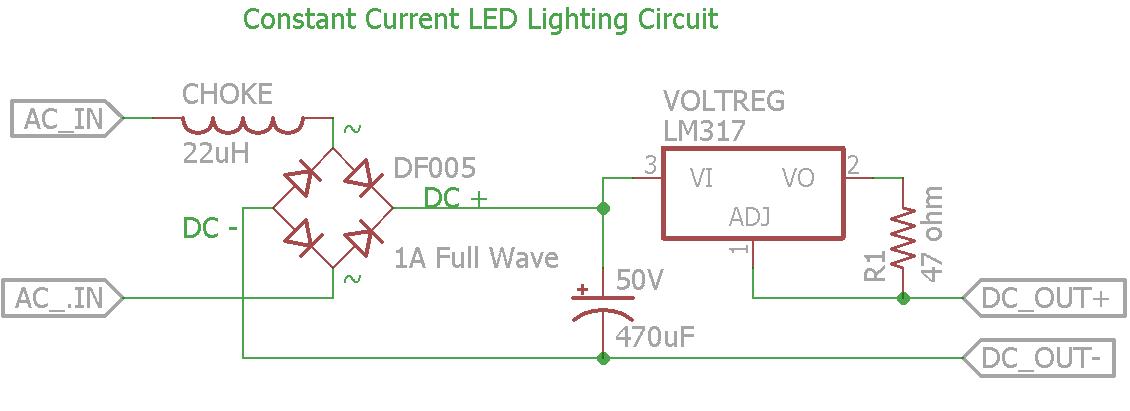 Bobot's Trains: Supplemental Info for Constant Current LED