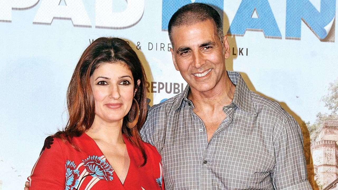 Akshay Kumar And Twinkle Khanna Hd Wallpaper Bollywood Couple Free