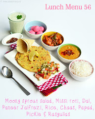 North Indian lunch idea 56