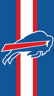 Wallpaper Buffalo Bills blue black para celular gratis
