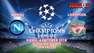 Prediksi Bola Napoli vs Liverpool 4 Oktober 2018