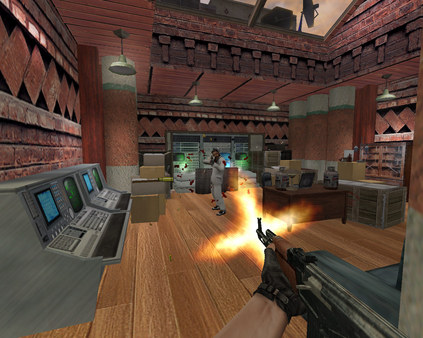 Counter Strike Condition Zero PC Game Play