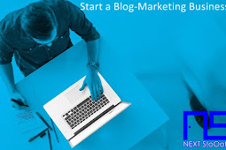 Start a Blog-Marketing Business