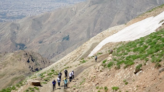 Tehran has Mount Tochal to go hiking