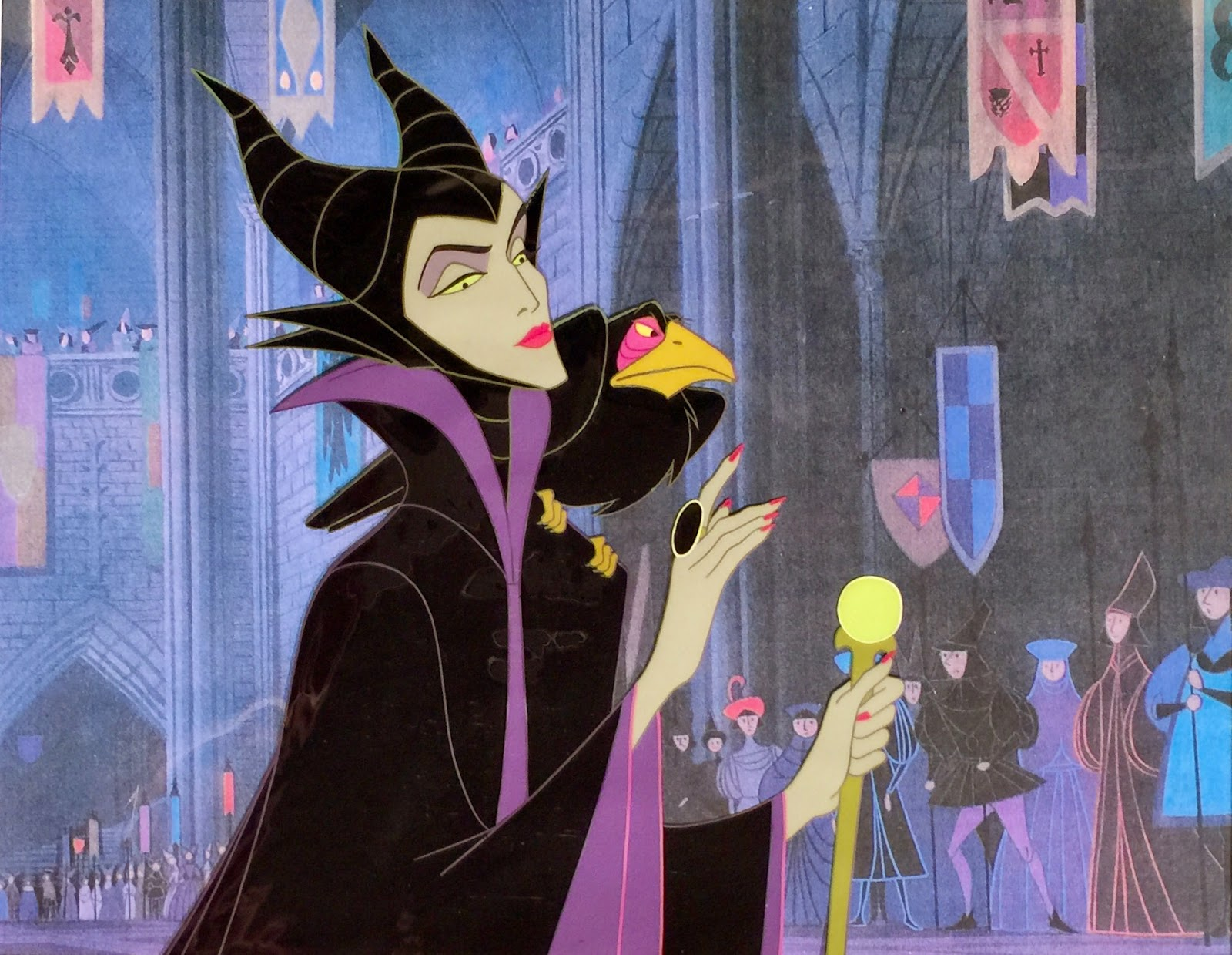 Animation Collection Maleficent And Diablo Cel From