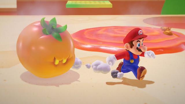 Super Mario Odyssey nos presenta a su enemigo Magmate
