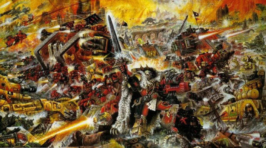 Leadhead, Ph D: Horizon Wars – Warhammer 40k equivalency