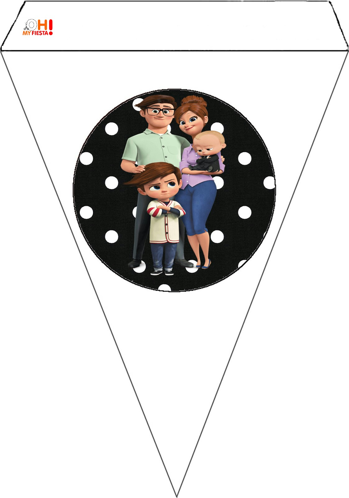 picture relating to Boss Baby Printable named The Manager Youngster Cost-free Get together Printables. - Oh My Boy or girl!