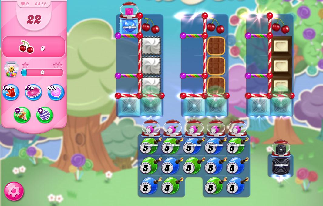 Candy Crush Saga level 6412