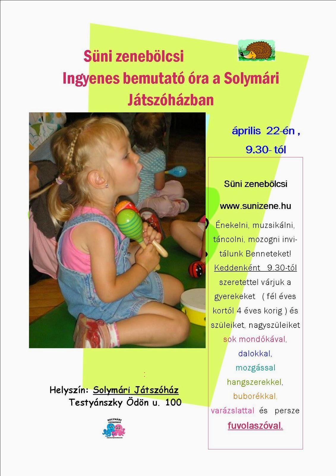 92f6dc5cf3 Ingyenes bemutató óránk lesz a Solymári Játszóházban!!!