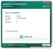 برنامج إزالة الفيروسات والتروجان XoristDecryptor 2017 تحميل مجانا