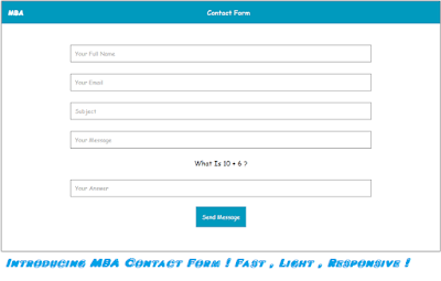 mba contact form
